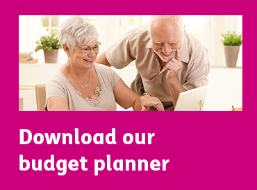 Download our budget planner